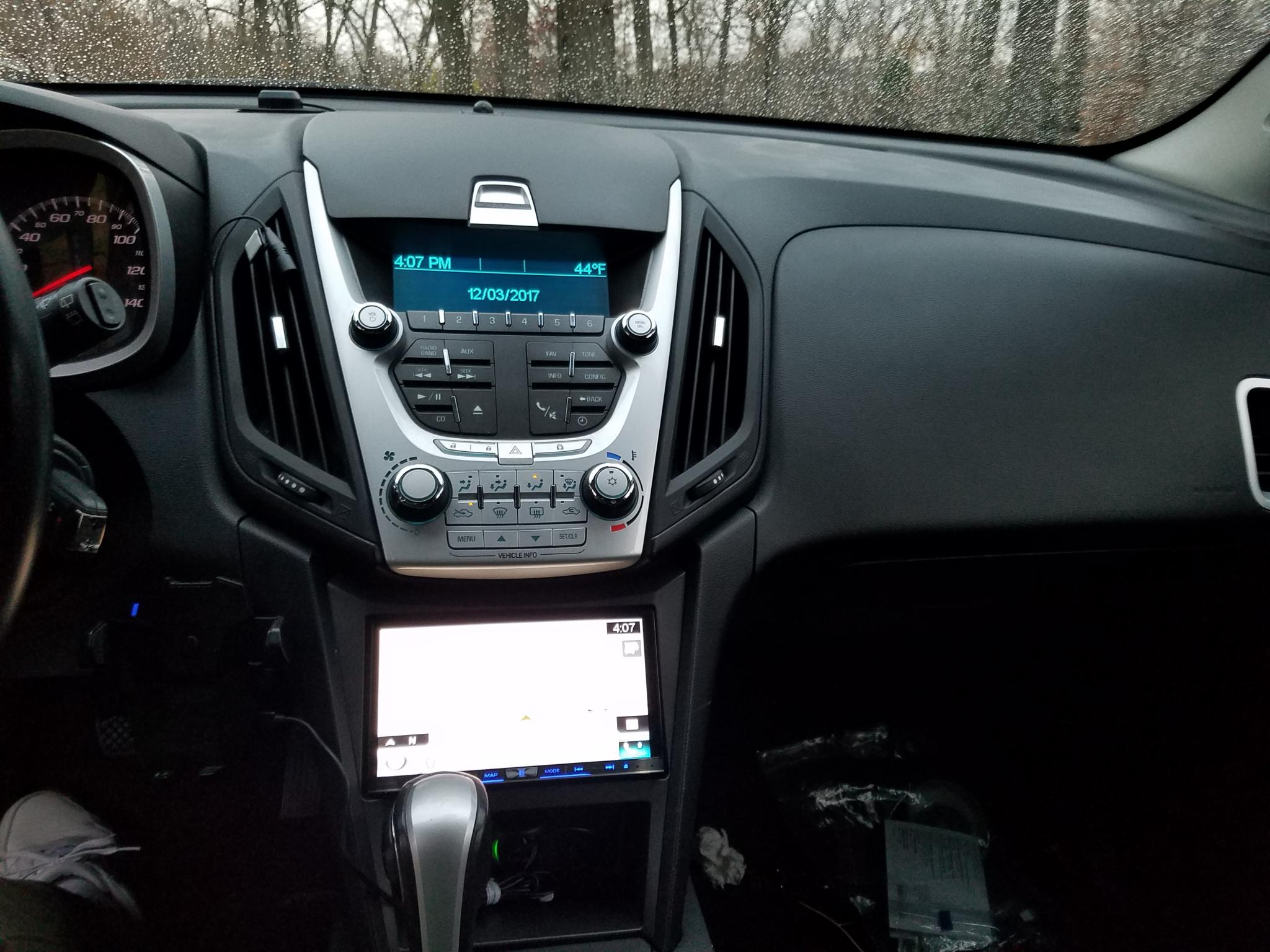 How To Replace The Factory Radio Gmc Terrain Equinox And Srx Forum