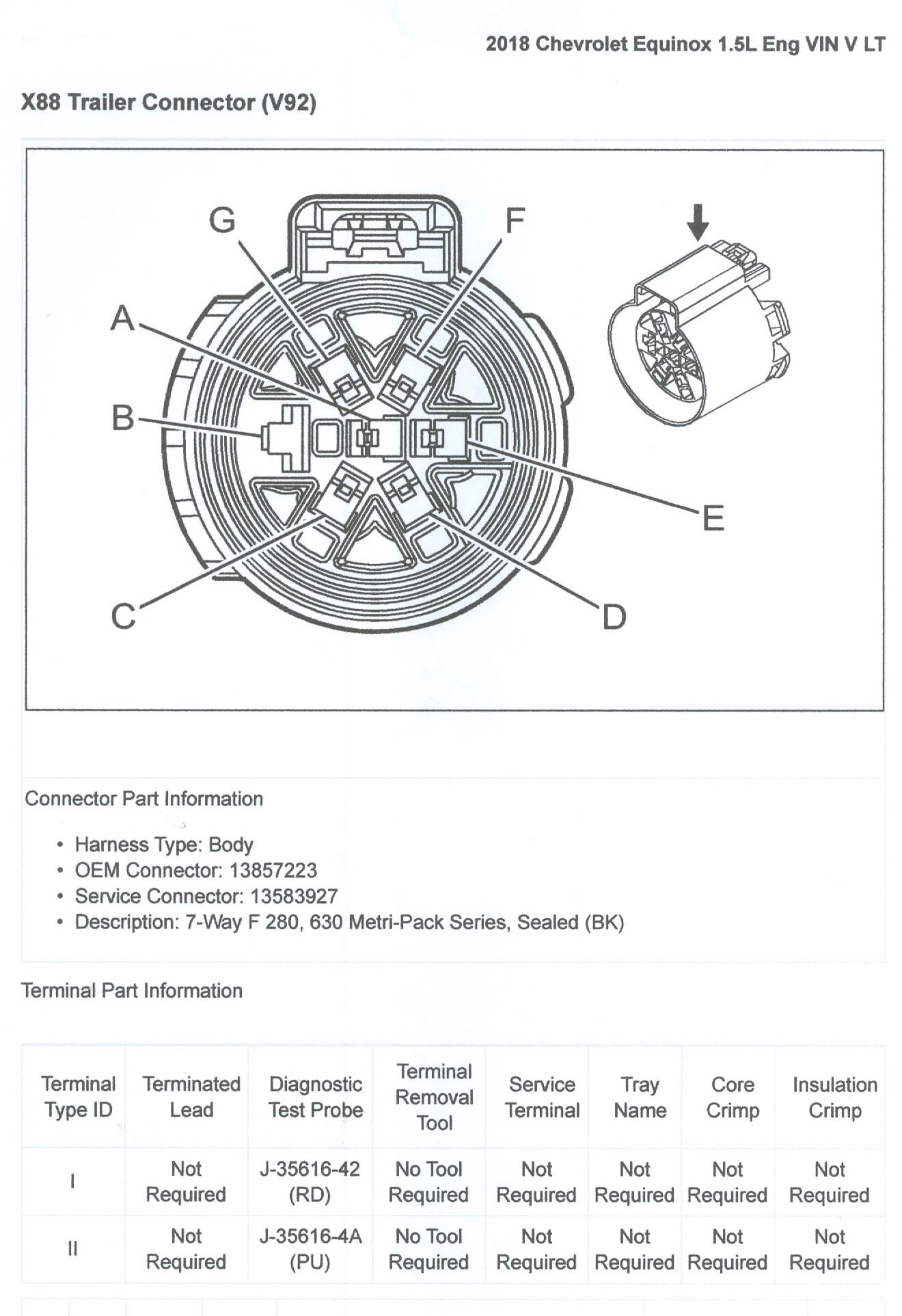 2017 Chevrolet Trailer Wiring Diagram