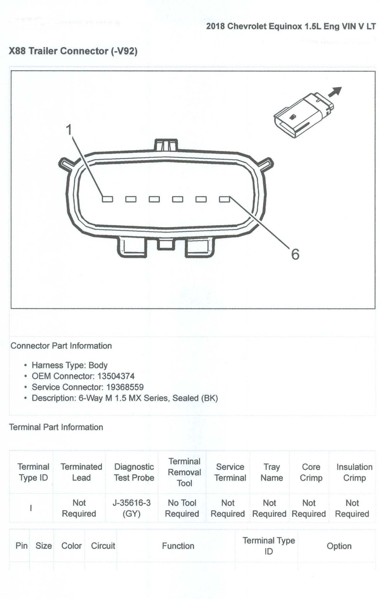 Wiring Diagram For 2017 Chevy Equinox
